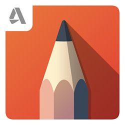 Autodesk SketchBook - программа на ОС Андроид / Android