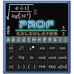Prof Calculator - программа на Android 4.0 / 5.0