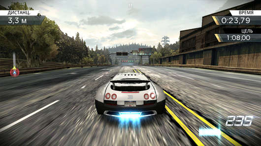 Need for Speed: Most Wanted - игра для Андроид