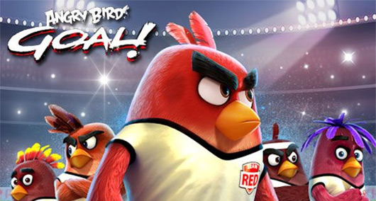 Angry Birds: Football Goal! - игра для смартфона на Android 4.1 / 5.0 / 6.0 / 7.0 и новее