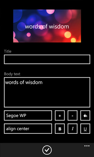Skinery Themes - программа для Windows Phone
