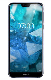 Nokia 7.1 (2018) - цена, характеристики (Specifications) смартфона Nokia 7.1