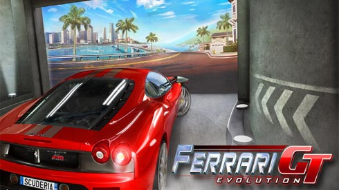 Ferrari GT Evolution игра для Symbian