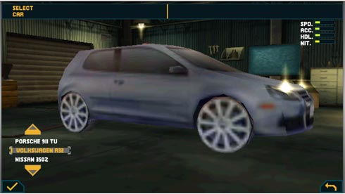 Need for Speed: Undercover игра для Symbian