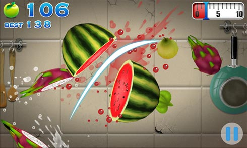AE Fruit Slash игра для Windows Phone
