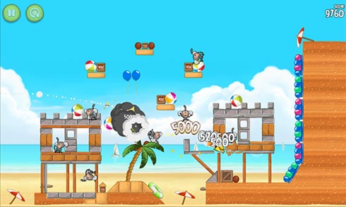 Angry Birds Rio - игра для Windows Phone