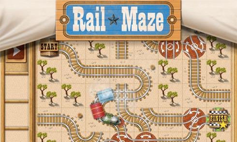 Rail Maze - игра для Windows Phone