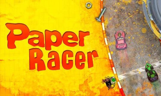 Игра для Nokia Lumia 520 - Paper Racer