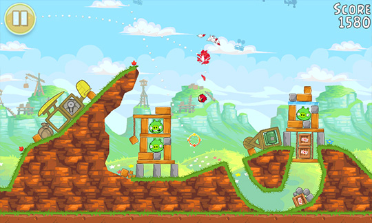 Angry Birds - игра для Windows Phone