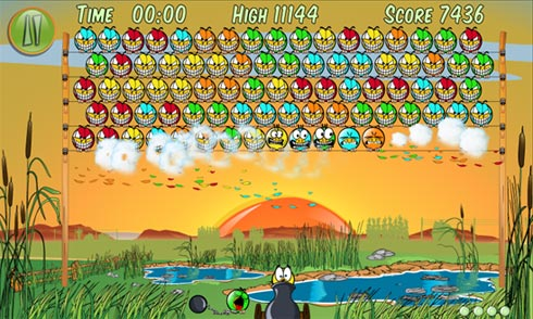 Birds On A Wire - игра для Windows Phone