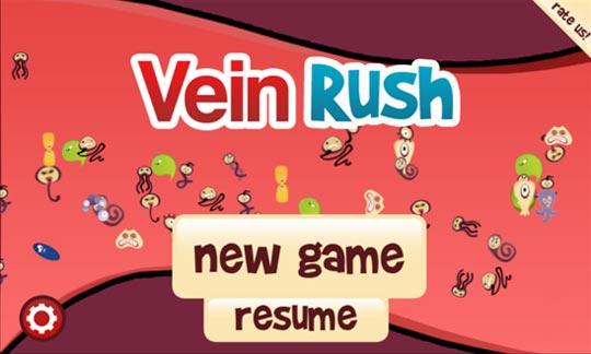 Игра Vein Rush на Windows Phone смартфон Nokia