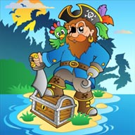 Captain Pirate - игра на ОС Windows Phone