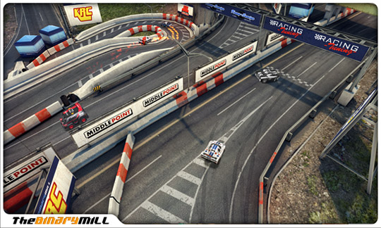Mini Motor Racing - игра для Windows Phone
