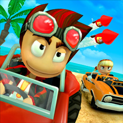 Beach Buggy Racing - игра на ОС Windows Phone 8 и 8.1