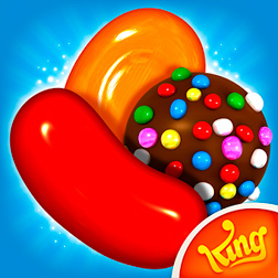 Candy Crush Saga - игра на ОС Windows Phone 8 и 8.1