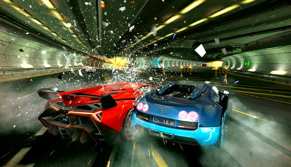 Игра Asphalt 8: Airborne вышла на ОС Windows Phone