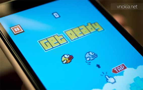 Оригинальная игра Flappy Bird не появится на Windows Phone