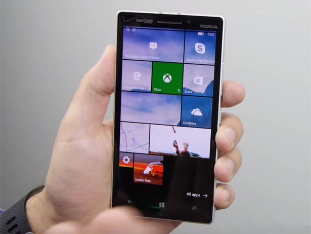 Билд Windows 10 Mobile 10586 теперь доступен для пользователей медленного кольца