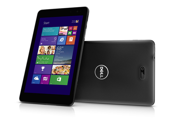 Dell Venue 8 Pro получит Windows 10, LTE и Full HD-дисплей