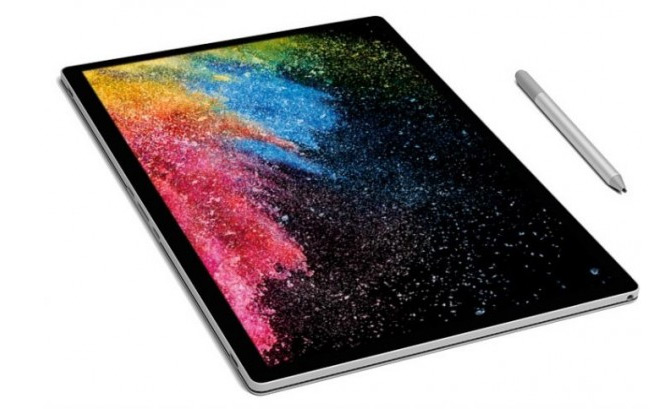 Microsoft презентовала Surface Book 2
