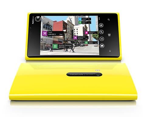 Nokia Lumia 920 - карты Nokia City Lens