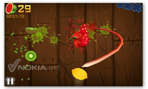 Fruit ninja frenzy.