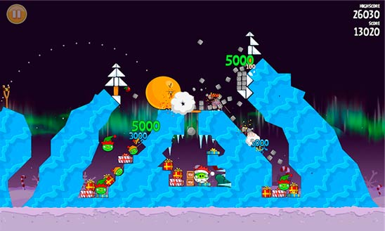 Angry Birds Seasons - забава на Windows Phone