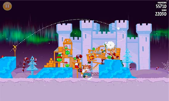 Angry Birds Seasons - игрище чтобы Windows Phone