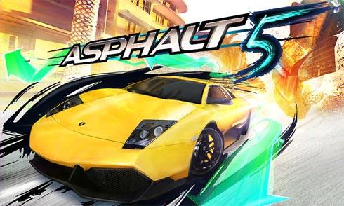 Asphalt 5 - игра для Windows Phone