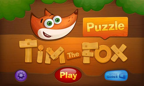 Tim the Fox – Puzzle - забава к Windows Phone