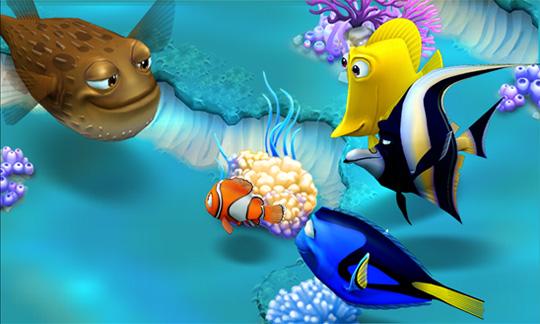 скачать игру nemo's reef на планшет