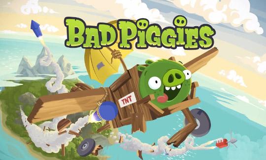 Bad Piggies - шутка интересах смартфона в Windows Phone 0 / 0.1
