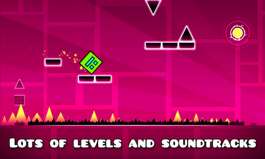Geometry Dash - игруха чтобы Windows Phone