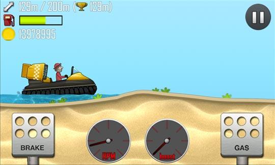 Hill Climb Racing - игрище ради Windows Phone