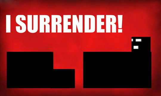 I Surrender! - проказа интересах смартфона нате Windows Phone 0 / 0.1