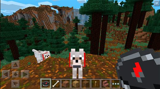 Minecraft - Pocket Edition - шутка для того Windows Phone