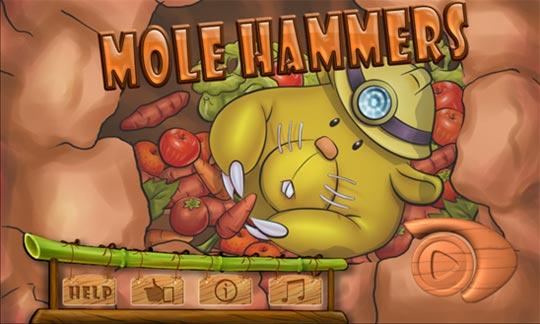 Mole Hammers - игрище на смартфона для Windows Phone 0 / 0.1