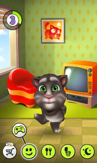 Игра на телефоне кот том играть