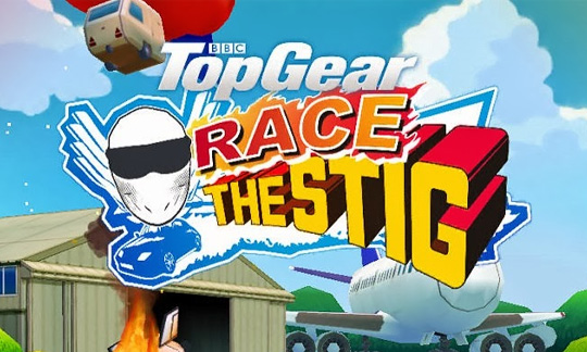 Race The Stig - проказа в целях Windows Phone