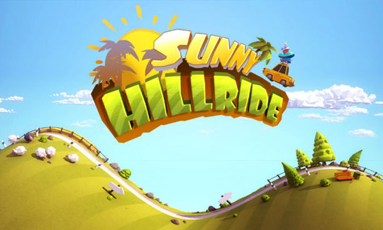 Игра Sunny Hillride на Lumia 020 Windows Phone
