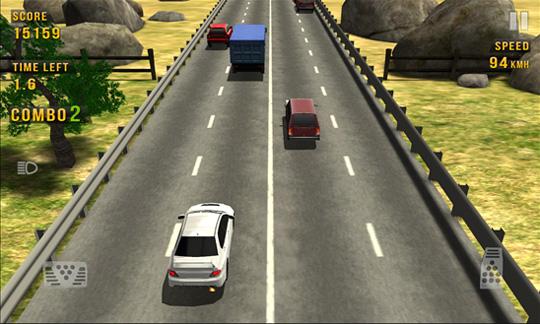 Traffic Racer - игрище интересах Windows Phone