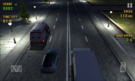 Traffic Racer - игруха пользу кого Windows Phone