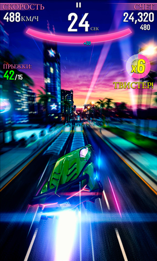Asphalt Overdrive - шутка для того Windows Phone