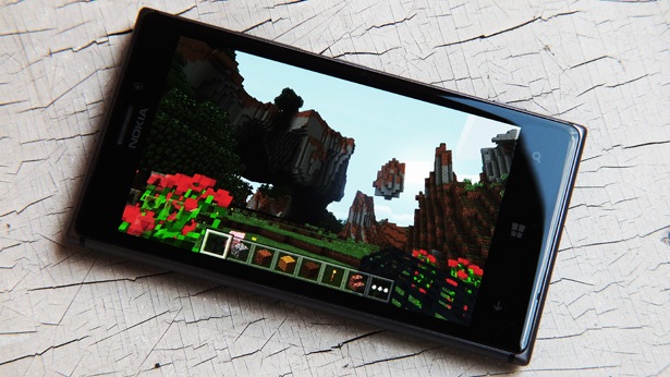 Появление в Windows Store игры Minecraft Windows 10 Edition Beta