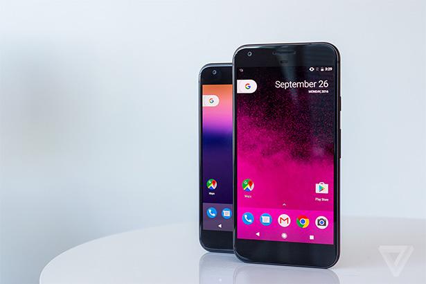 Наконец-то компания Google анонсировала свои смартфоны