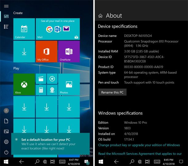 Появилась инструкция установки Windows 10 ARM на Lumia 950 XL
